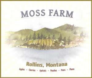 Moss Farm label